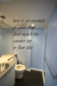 bathroom paint ideas that don't work
