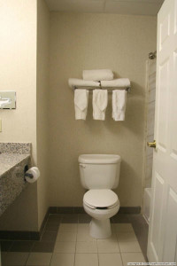 bright white towels help with bathroom paint ideas