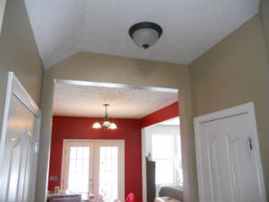 repairing ceilings for painting