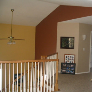 red accents for house painting ideas