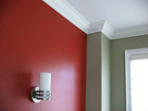 painting interior trim white