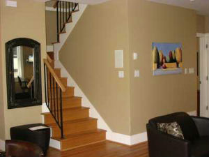 Exceptionnel ... Interior. How Much It Cost To Paint A House Picture Of Stairs