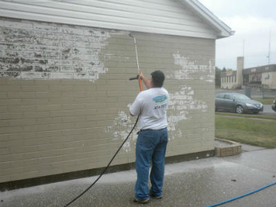 Pressure Washing Adds To The Cost To Paint Exterior Of House Images How Much To Paint A House
