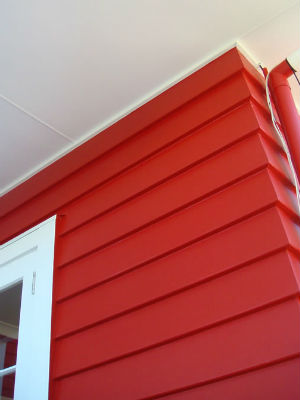 Red Exterior House Painting Cost Estimate