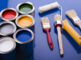 Professional paint supplies